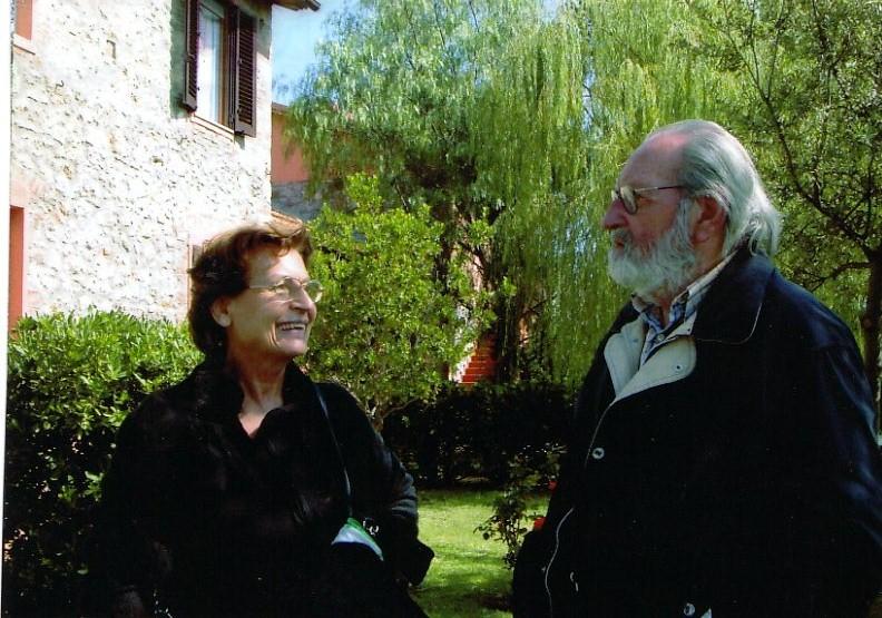 Con il Maestro Italo Bolano a villa Sugherella GR