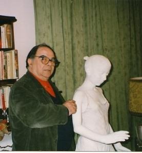 Con Amnon Barzel a Villa Sugherella