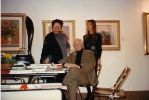 Stend expo Bologna con Squillantini e Monica Bianco