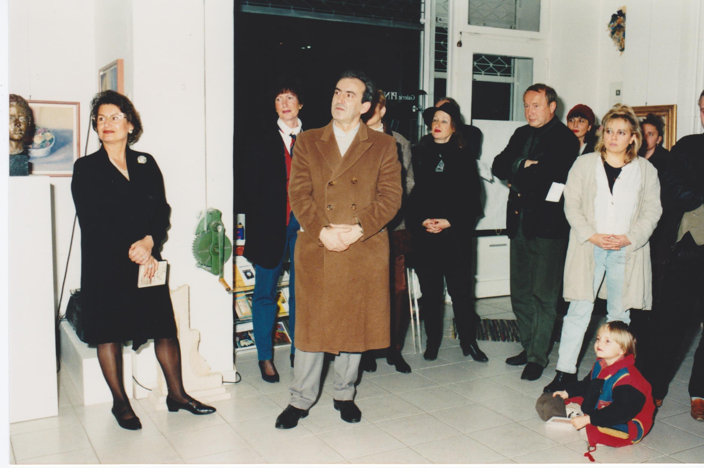Inaugurazione Gall. Pinna Brlin