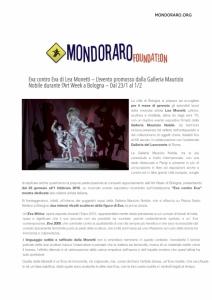 Mondoraro.org