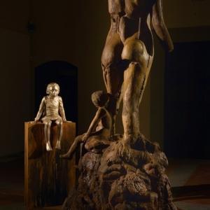 Nuovo Rinascimento - Bronzo, Ferro, Resine h 240 cm